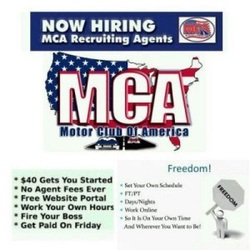 MCA Motor Club of America – Scam? I'm sure by now you've heard about the latest money making crazy called MCA (Motor club of America).